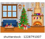 vector illustration of... | Shutterstock .eps vector #1228791007