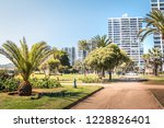 el sol park at el sol beach  ... | Shutterstock . vector #1228826401