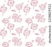 floral vector background.... | Shutterstock .eps vector #1228829521