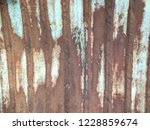 rust on the wall | Shutterstock . vector #1228859674