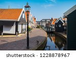 beautiful streets in fishing... | Shutterstock . vector #1228878967
