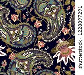 colorful paisley pattern for... | Shutterstock .eps vector #1228897291