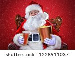 merry christmas and happy new... | Shutterstock . vector #1228911037