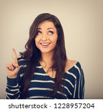 beautiful positive young casual ...   Shutterstock . vector #1228957204