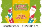 this is a bright congratulatory ... | Shutterstock .eps vector #1229004571