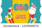 this is a bright congratulatory ... | Shutterstock .eps vector #1229004574