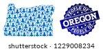 people combination of blue...   Shutterstock .eps vector #1229008234