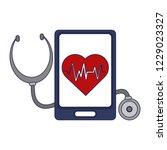 medical online app | Shutterstock .eps vector #1229023327