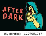 After Dark Street Art  Aiming...