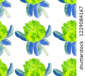 creative seamless pattern with... | Shutterstock . vector #1229084167