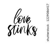 love stinks   antivalentine's... | Shutterstock .eps vector #1229086417