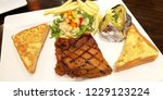 Chicken Grill Steak Set Has...