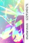iridescent background.... | Shutterstock .eps vector #1229140171