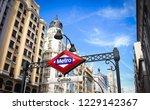 madrid  madrid  spain. june... | Shutterstock . vector #1229142367
