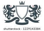 coat of the arms. vector... | Shutterstock .eps vector #1229143384