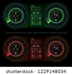 automotive dashboard of the...