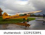 laxton  northamptonshire  uk  ... | Shutterstock . vector #1229152891