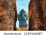 landscape picture of old garuda ... | Shutterstock . vector #1229163487
