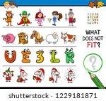 cartoon illustration of finding ... | Shutterstock .eps vector #1229181871