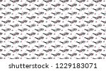 3d glasses with chromatic... | Shutterstock . vector #1229183071