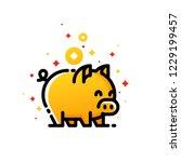 Golden Pig As Symbol Of 2019...