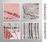 creative artistic backgrounds... | Shutterstock .eps vector #1229219641