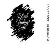 black friday sale vector.... | Shutterstock .eps vector #1229227777