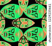 seamless pattern. abstract... | Shutterstock .eps vector #1229235661