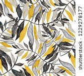 creative seamless pattern with...   Shutterstock . vector #1229278177