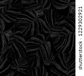 creative seamless pattern with... | Shutterstock . vector #1229302921