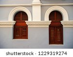 windowbig and small with wooden ... | Shutterstock . vector #1229319274