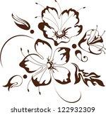 floral design  vector...