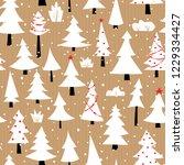 seamless vector seamless... | Shutterstock .eps vector #1229334427