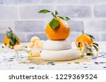 traditional japanese kagami...   Shutterstock . vector #1229369524