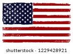 usa flag background.grunge...   Shutterstock .eps vector #1229428921