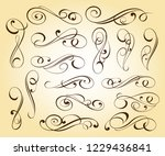 design elements. vector... | Shutterstock .eps vector #1229436841