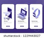 email sent  online advertising...   Shutterstock .eps vector #1229443027