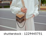 detail of young fashionable...   Shutterstock . vector #1229445751