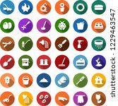 color back flat icon set  ... | Shutterstock .eps vector #1229463547