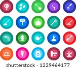 round color solid flat icon set ... | Shutterstock .eps vector #1229464177