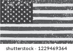 grunge american flag background.... | Shutterstock .eps vector #1229469364