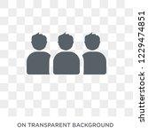 unit trust icon. trendy flat... | Shutterstock .eps vector #1229474851