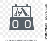 toolbox icon. trendy flat... | Shutterstock .eps vector #1229478631