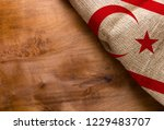 flag of northern cyprus from... | Shutterstock . vector #1229483707