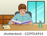 a vector illustration of boy... | Shutterstock .eps vector #1229516914