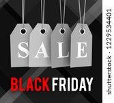 black friday sale 3d render | Shutterstock . vector #1229534401
