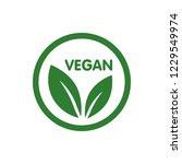 vegan bio  ecology  organic...   Shutterstock .eps vector #1229549974