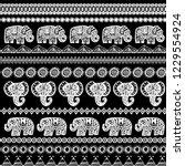 beautiful seamless pattern...   Shutterstock . vector #1229554924