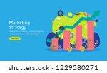 digital marketing strategy... | Shutterstock .eps vector #1229580271