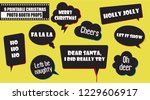 christmas and new year party... | Shutterstock .eps vector #1229606917